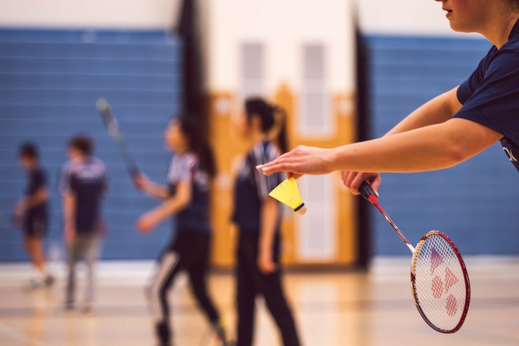 Badminton Class in Hollywood, Co. Wicklow